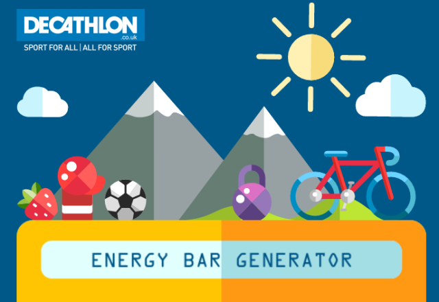 Runhelenrun - Decathalon Energy Bar Generator