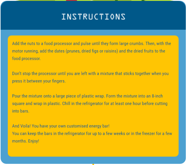 Runhelenrun - EBG Instructions Berries and Nuts